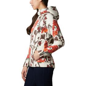 Columbia Ali Peak Fleece pullover med hætte Damer, beige/rød